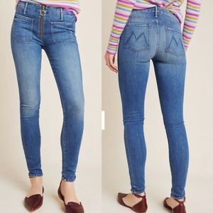 MOTHER The Patch XYZ Looker Skinny Jeans